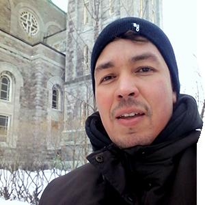 Adriano Magesky, membre de l'équipe Chaire de recherche Littoral